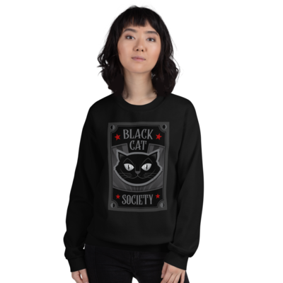 Black Cat Society Sweatshirt