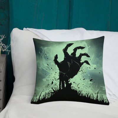 The Return - Zombie Throw Pillow