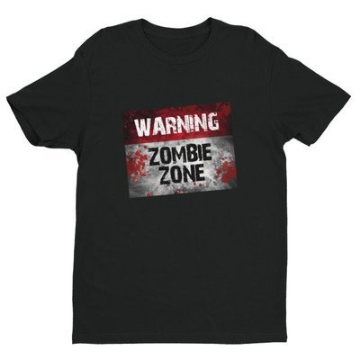 Zombie Zone - Short Sleeve T-shirt