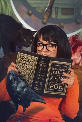 Velma Scooby doo Black Cat Good Book