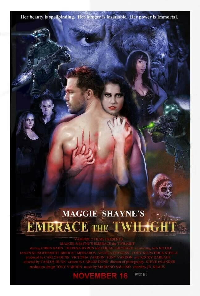 Embrace the Twilight Promo Poster