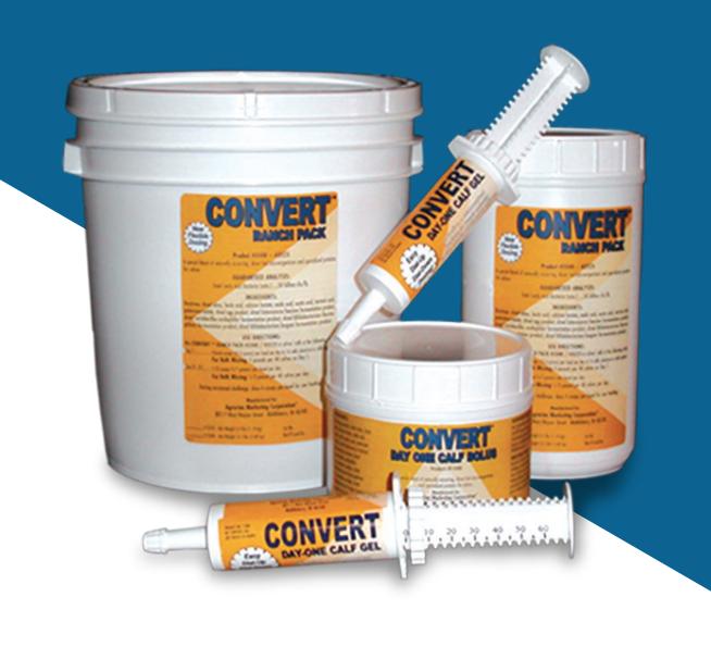 Convert™ Calf Care Products - 2.5 lb Ranch Pak