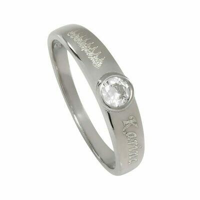 Heartbeat Gemstone Ring