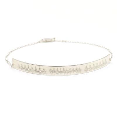 Heartbeat Bar Bracelet