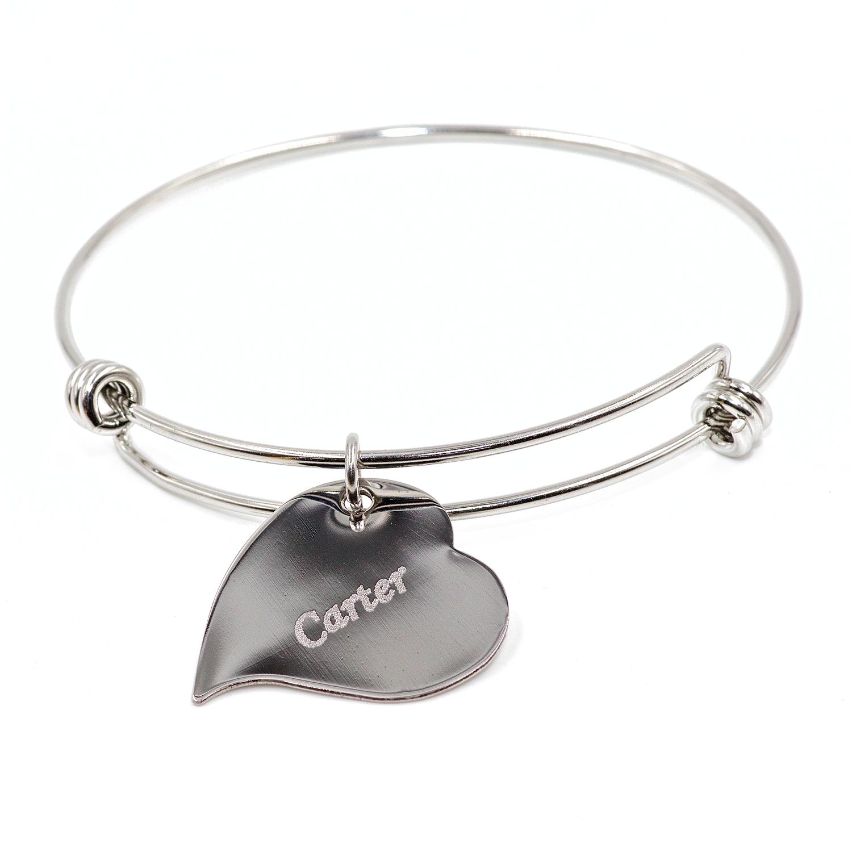 Heartbeat Charm Bracelet