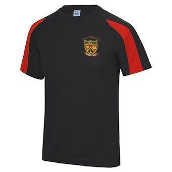 Congresbury CC Training T-Shirt JC003 - Short sleeve