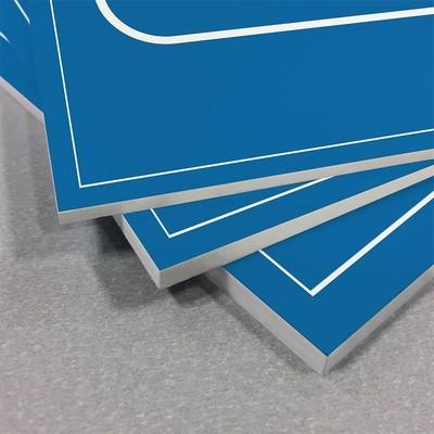 Rigid Plastic Signage - 30cm x 50cm