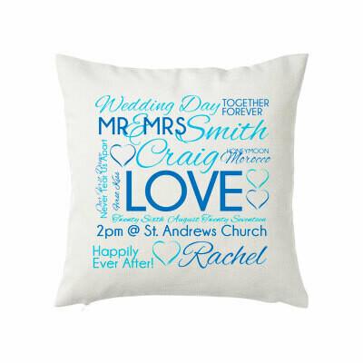 Cushion - Wedding day