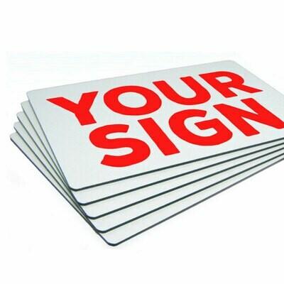Promotion - Aluminium Dibond Signage