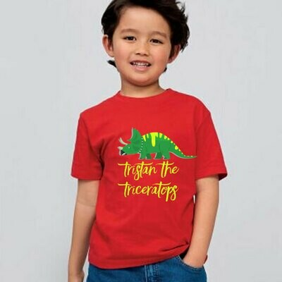 Kids T-shirts (printed with any design)