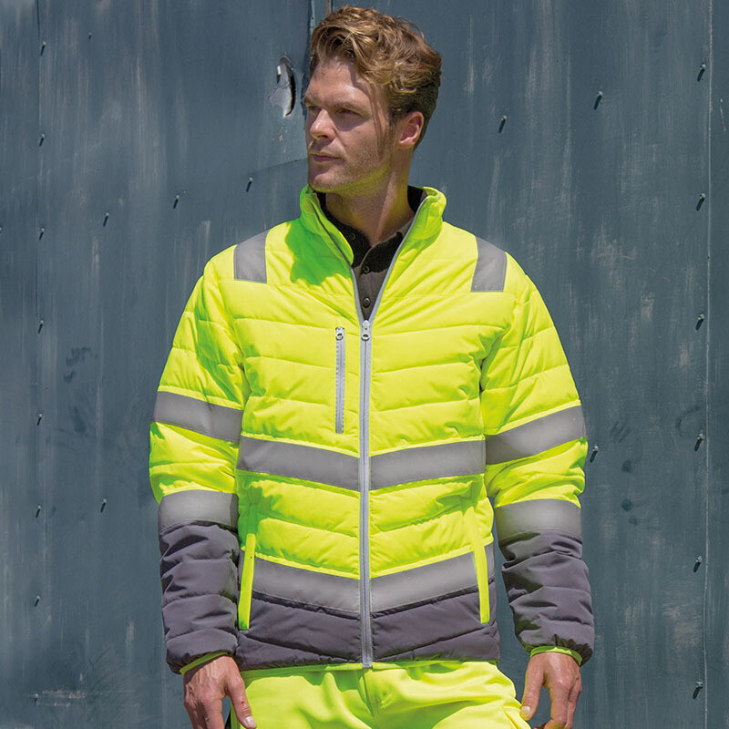Soft padded safety jacket (R325)