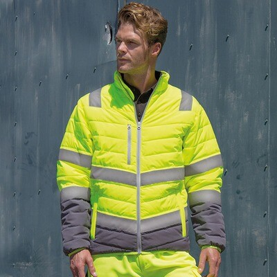 Soft padded safety jacket (R325)