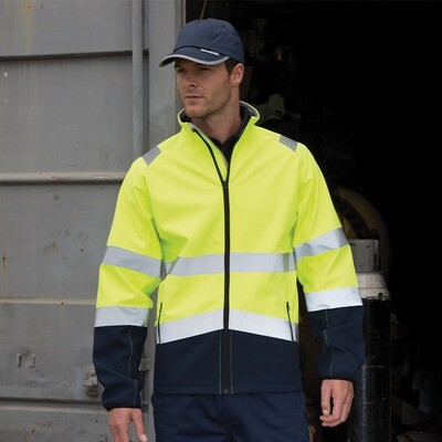 Safety softshell jacket (R450)