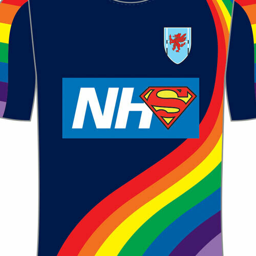 CVRFC - NHS Training top (please call to order)