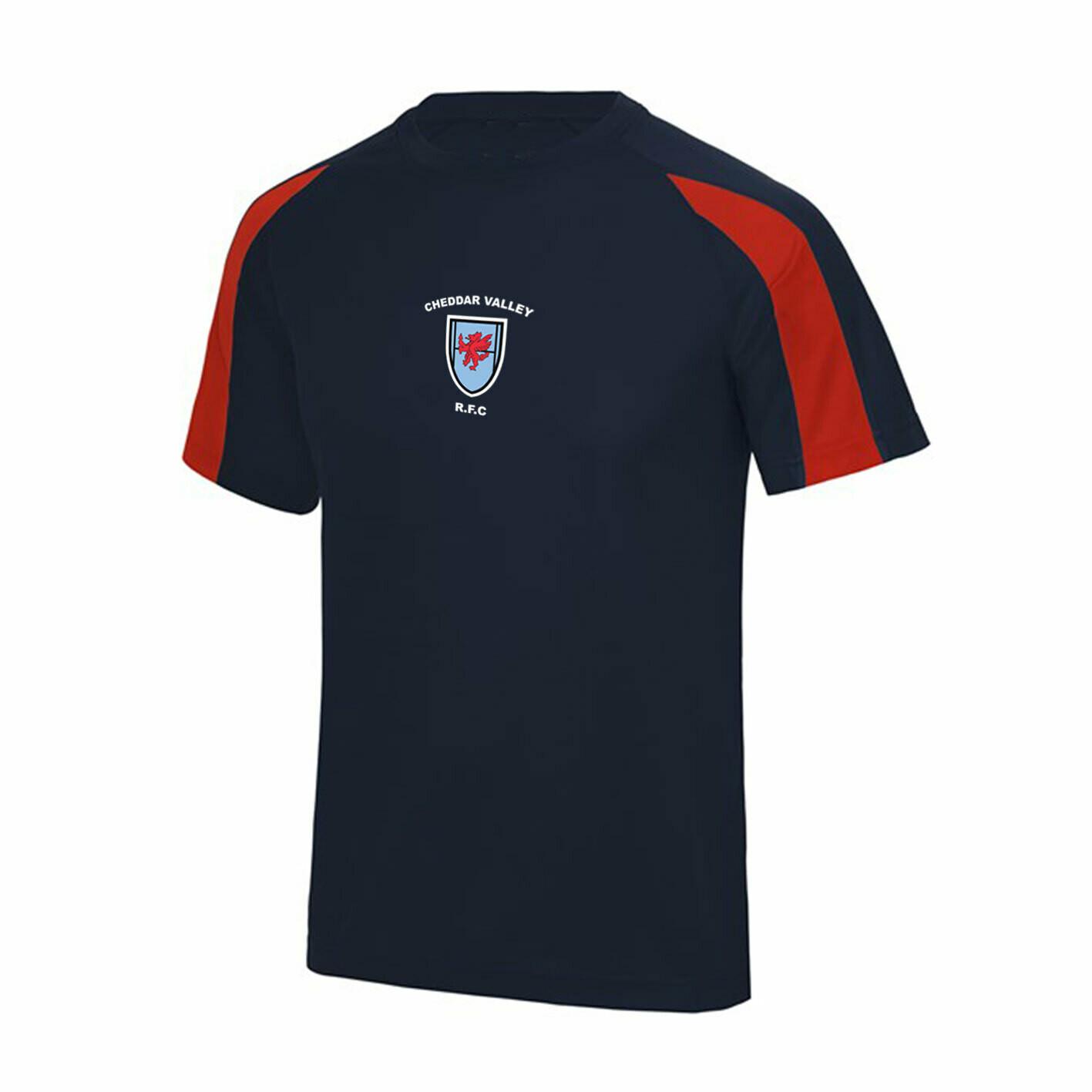 CVRFC Supporter Tech T-shirt