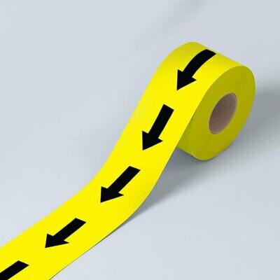 Directional Arrow Tape (laminated)