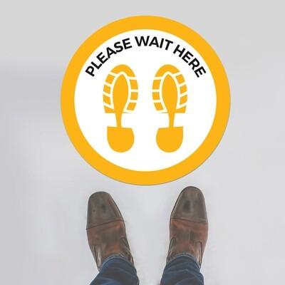 Floor Stickers (personalised message)