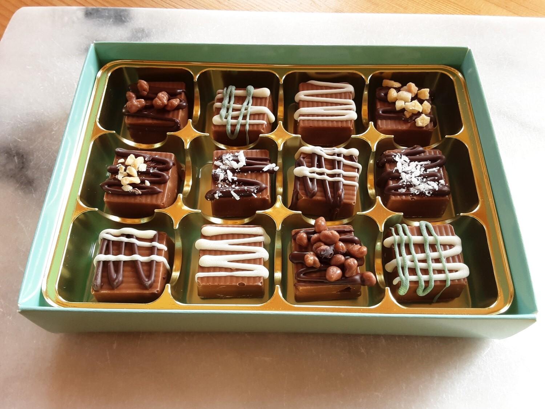 Handmade Milk Chocolates - 12
