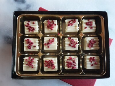 White Chocolate and Raspberry