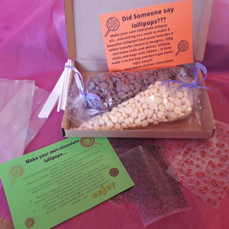 Make your own Easter lollipop kit
