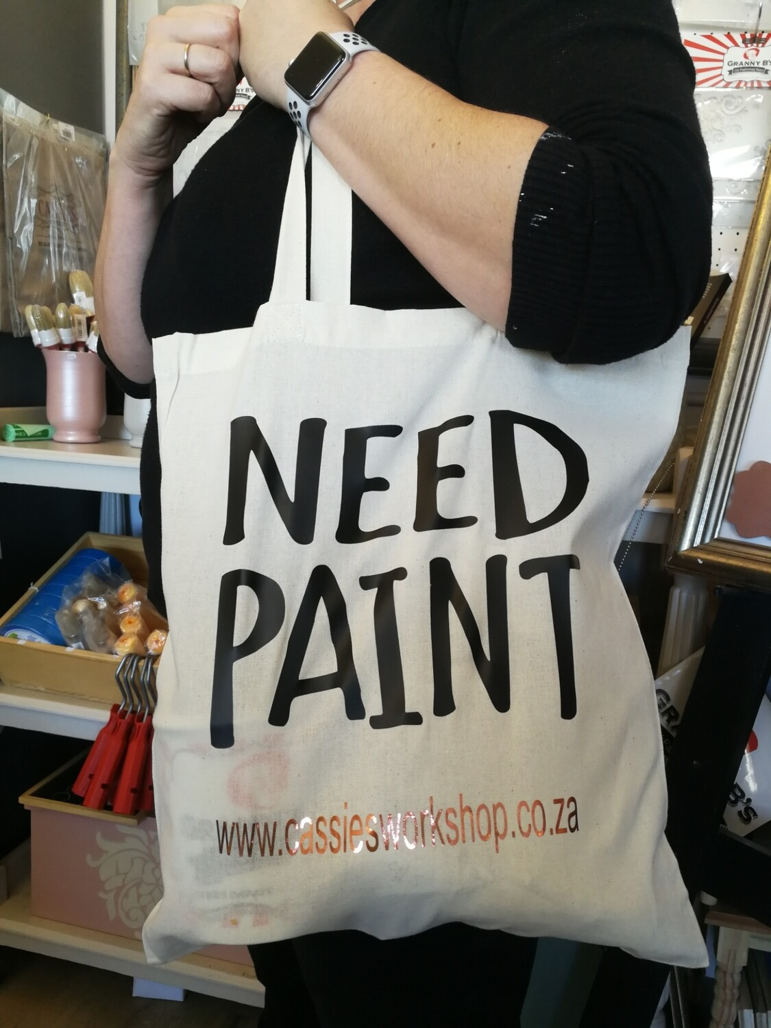 'Need Paint' Shopper