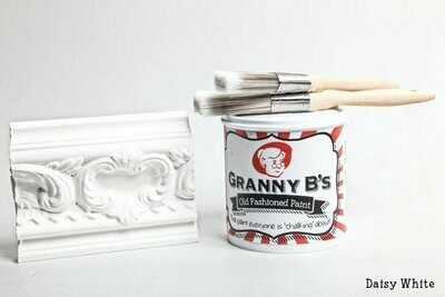 Old Fashioned Paint - Daisy White (White)