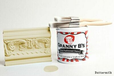 Old Fashioned Paint - Buttermilk (Pale Yellow)