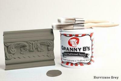 Old Fashioned Paint - Hurricane Grey (Dark Grey)