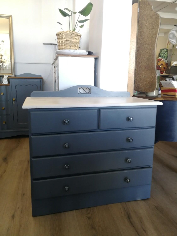 Grey Drawers - 5-drawer