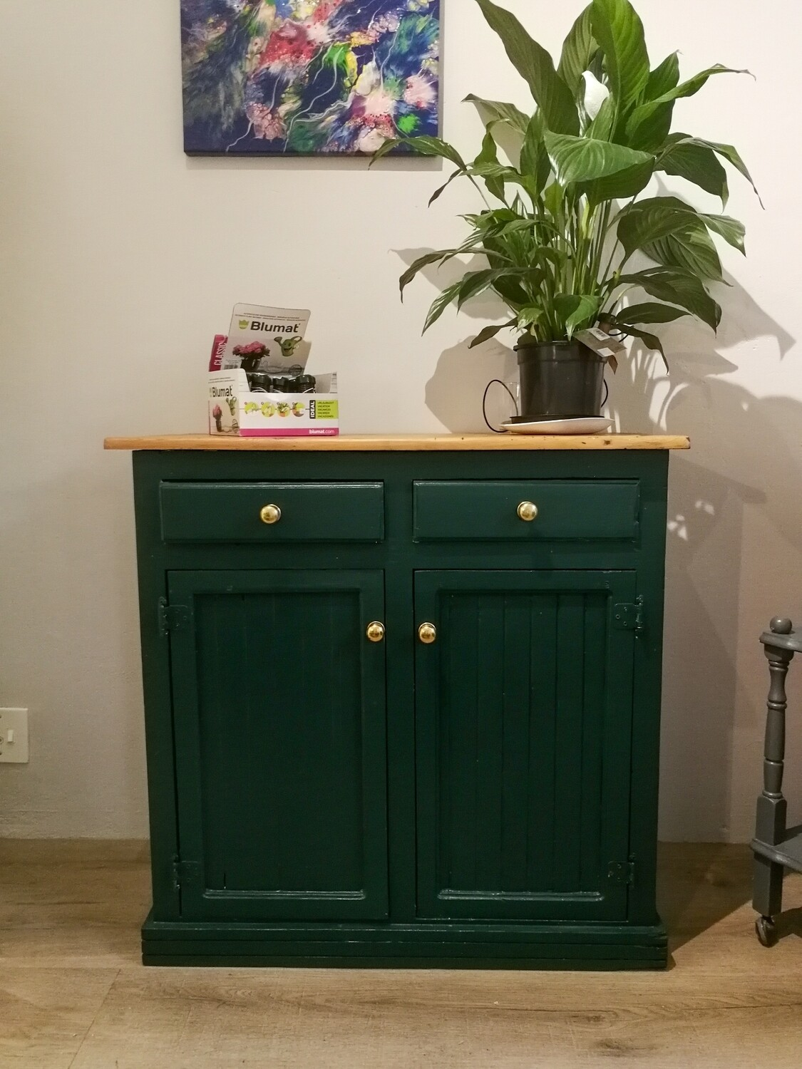 Tropical Green Cabinet