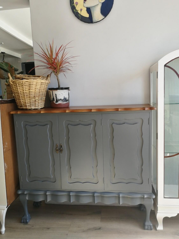 Imbuia Sideboard - Grey