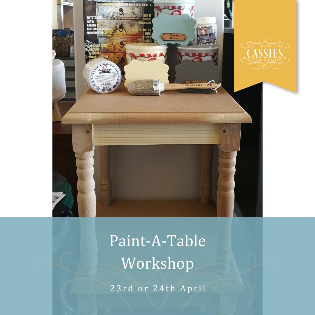Paint-A-Table Workshop