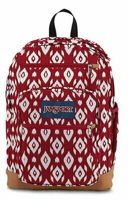 Jansport Cool Student VIKING RED IKAT DIAMONDS