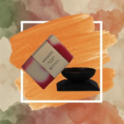 Jabón artesanal de Vino Tinto