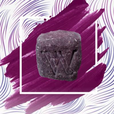 Shampoo en barra Purple Velvet Cabello Delicado