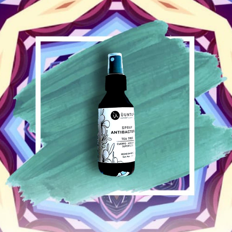 Spray Desinfectante y aromaterapia