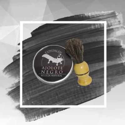 Espuma sólida para rasurar tipo barbería