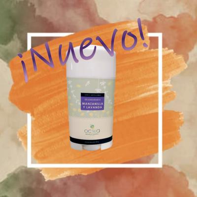 Desodorante para pieles sensibles - Manzanilla y Lavanda
