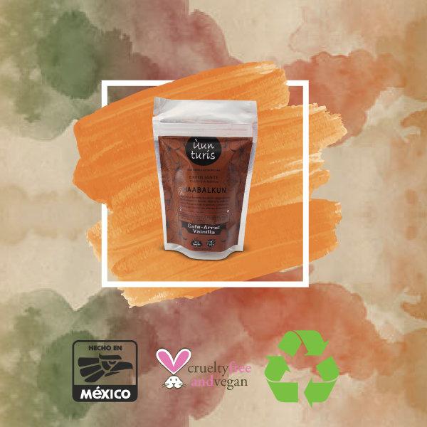 Exfoliante de café y vainilla HAABALKUM