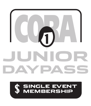 CORA Junior Single Event Membership 2020