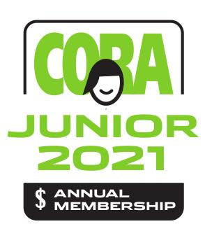 CORA Junior Annual Membership 2021