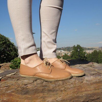Madison  Genuine Leather in Tan Finley