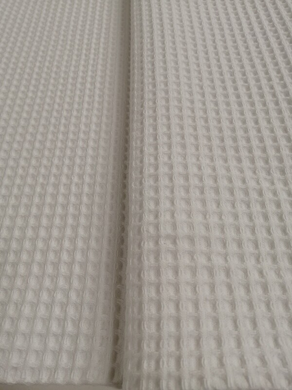 Vohvelikangas valkoinen 13.90e/m