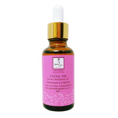 Facial Oil-Massage Oil for Skin Healing & Hydration