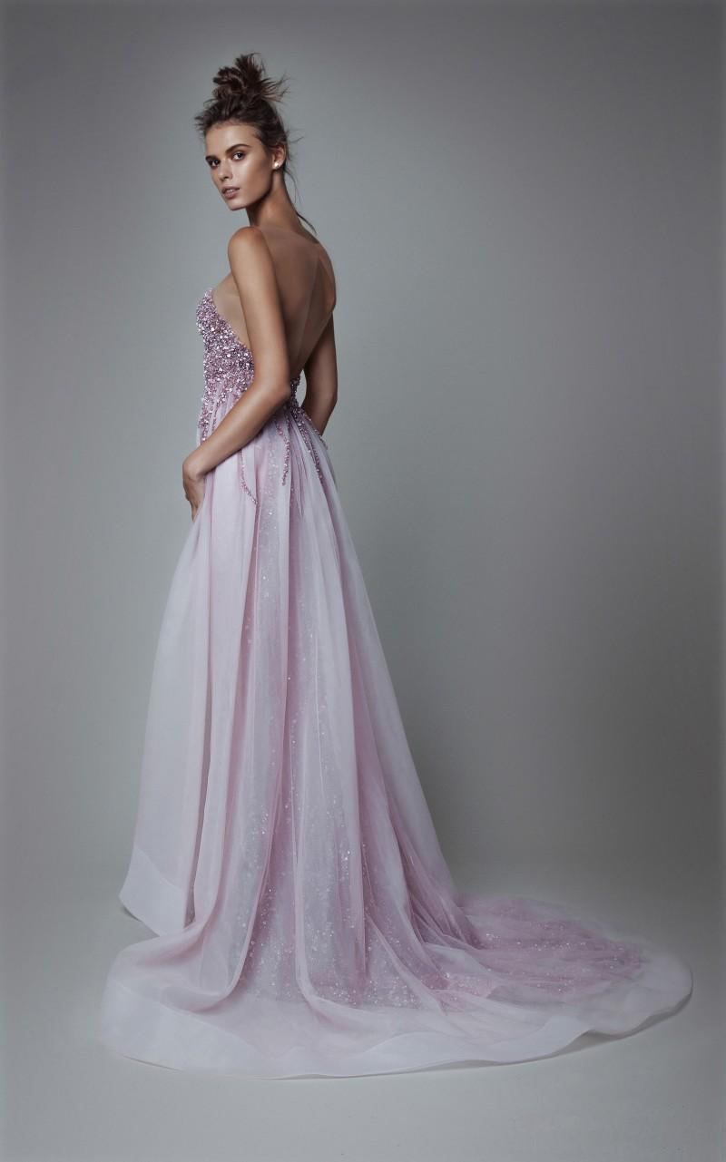 Ivone Dir - Strapless Sweetheart Fitted Dress 6