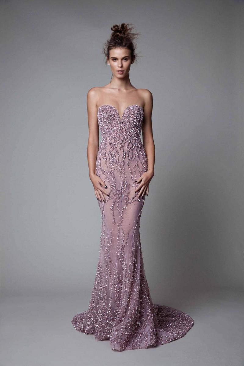 Ivone Dir - Strapless Sweetheart Fitted Dress 7