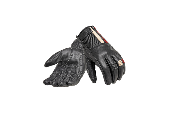 Triumph Raven Leather Motorcycle Glove