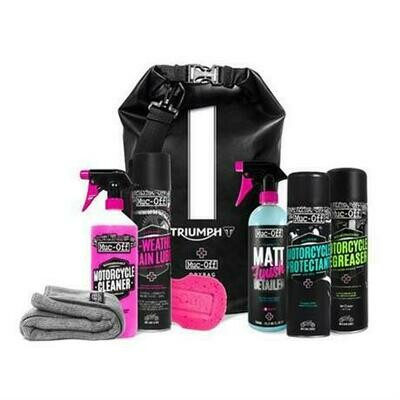 Triumph Muc-Off Motorcycle Care Kit