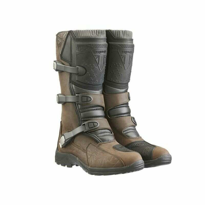 Triumph Brown Adventure Dirt Boots