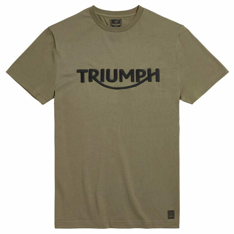 Triumph Bamburgh Khaki Tee